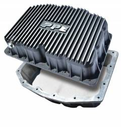 2011-2016 Ford 6.7L Powerstroke - Engine Parts - PPE Diesel - Ford Engine Pan 6.7L Brushed PPE Diesel