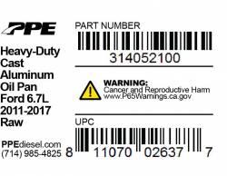 PPE Diesel - Ford Engine Pan 6.7L Raw PPE Diesel - Image 5