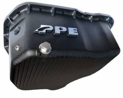 Engine Parts - Parts & Accessories - PPE Diesel - Deep Engine Oil Pan Black 11-16 18 Hole PPE Diesel