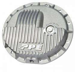 Axles & Components - Differential Covers - PPE Diesel - Heavy Duty Cast Aluminum Front Differential Cover 15-17 Ram 2500/3500 HD Raw PPE Diesel