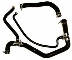 2004.5-2005 GM 6.6L LLY Duramax - Cooling System - PPE Diesel - Coolant Hose Kit 01-05 LB7 / LLY Black PPE Diesel