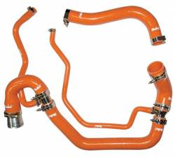 2006–2007 GM 6.6L LLY/LBZ Duramax Performance Parts - 6.6L LLY/LBZ Cooling System Parts - PPE Diesel - Coolant Hose Kit 06-10 LBZ / LMM Orange PPE Diesel