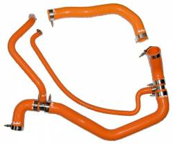 Cooling System - Cooling System Parts - PPE Diesel - Coolant Hose Kit 01-05 LB7 LLY Orange PPE Diesel