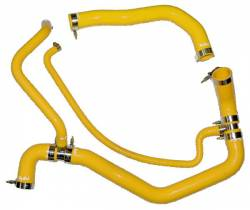 Cooling System - Cooling System Parts - PPE Diesel - Coolant Hose Kit 01-05 LB7 LLY Yellow PPE Diesel