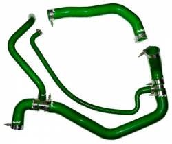 2004.5-2005 GM 6.6L LLY Duramax - Cooling System - PPE Diesel - Coolant Hose Kit 01-05 LB7 LLY Green PPE Diesel