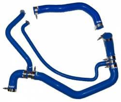 Cooling System - Cooling System Parts - PPE Diesel - Coolant Hose Kit 01-05 LB7 LLY Blue PPE Diesel