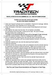 TrackTech Fasteners - TrackTech 5.9L Head Studs 89-98 Dodge Ram Cummins 12V 6BT - Image 2