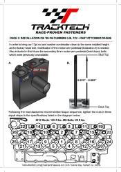 TrackTech Fasteners - TrackTech 5.9L Head Studs 89-98 Dodge Ram Cummins 12V 6BT - Image 3