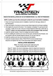 TrackTech Fasteners - TrackTech 7.3L T444E Head Studs For 94-03 Ford Powerstroke Diesel - Image 3
