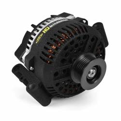 1994–1997 Ford 7.3L Performance Powerstroke Parts - Electrical Parts - XDP Xtreme Diesel Performance - Wrinkle Black HD High Output Alternator 1994-1997 Ford 7.3L Powerstroke XD357 XDP