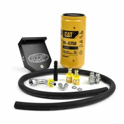 Fuel System & Components - Fuel Supply Parts - XDP Xtreme Diesel Performance - 10-18 Dodge Cummins 6.7L CAT Filter Adapter XDP