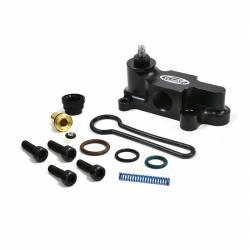 Fuel System & Components - Fuel Supply Parts - XDP Xtreme Diesel Performance - XDP Billet Adjustable Fuel Pressure Regulator Blue Spring Kit 03-07 Ford 6.0L Powerstroke XDP