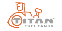 Titan Fuel Tanks - Titan Compact Locking Black Diamond Plate Aluminum Toolbox