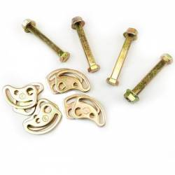 Steering And Suspension - Suspension Parts - KRYPTONITE PRODUCTS - Kryptonite Cam Bolt Kit 2011-2021 Chevy / GM 2500 HD 3500