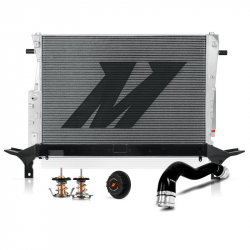 2008-2010 Ford 6.4L Powerstroke Parts - Ford 6.4L Cooling System Parts - Mishimoto - Mishimoto Heavy Duty Protection Bundle For Ford 6.4L Powerstroke 2008–2010