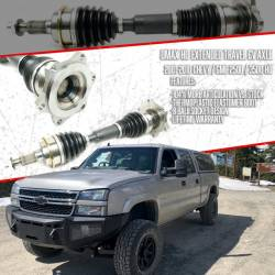 DMAXSTORE - DMAX HD Extended Travel Front CV Axle Assy (2001-2010) (Lifetime Warrany) - Image 9
