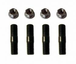 TrackTech Fasteners - TrackTech Exhaust Manifold To Turbo Mounting Studs / Nuts For 89-07 5.9L Cummins 12V 24V