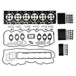 Dodge 5.9L Engine Parts - Cylinder Head Parts - TrackTech Fasteners - TrackTech Complete Cylinder Head Gasket / Studs Service Kit for 03-07 5.9L Cummins 24V