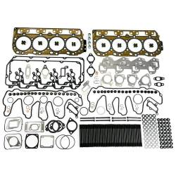 Engine Parts - Cylinder Head Gaskets and Kits - TrackTech Fasteners - TrackTech Complete Top End Cylinder Head Gasket / Studs Service Kit for 04.5-07 LLY LBZ Duramax