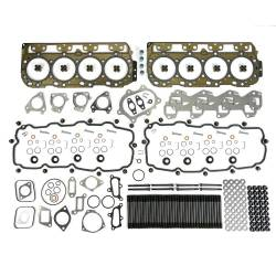 6.6L LB7 Engine Parts - Cylinder Heads, Gaskets And Kits - TrackTech Fasteners - TrackTech Complete Top-End Cylinder Head Gasket / Studs Service Kit for 01-04 LB7 Duramax