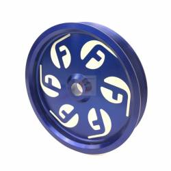 - Fleece Performance - Cummins Dual Pump Pulley For use with FPE Dual Pump Bracket Blue Fleece Performance