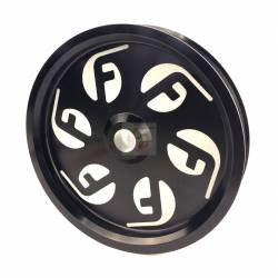 - Fleece Performance - Cummins Dual Pump Pulley For use with FPE Dual Pump Bracket Black Fleece Performance