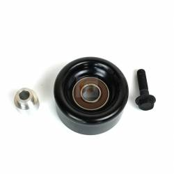 - Fleece Performance - Cummins Dual Pump Idler Pulley Spacer and Bolt For use with FPE-34022 Fleece Performance