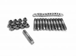 - Fleece Performance - Fleece Performance Exhaust Manifold Stud Kit - 6mm External Hex Head Fleece Performance