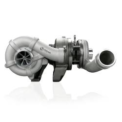 2008-2010 Ford 6.4L Powerstroke - Turbo Chargers & Components - Spoologic - SPOOLOGIC V2S Compound Turbocharger With Billet Wheel Fits 08-10 6.4L Ford Powerstroke