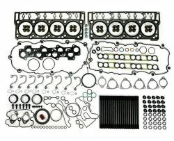 TrackTech Fasteners - TrackTech Complete Top End Cylinder Head Gasket / Studs Service Kit for 08-10 6.4L Powerstroke