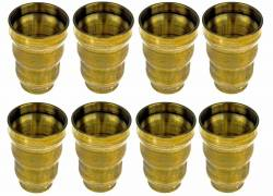 Ford 7.3L Fuel System & Components - Fuel Injection & Parts - Norcal Diesel Performance Parts - 7.3L Ford Powerstroke Injector Cups - Set of 8