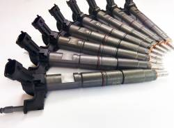 Fuel Injection & Parts - Fuel Injectors & Nozzles - Dynomite Diesel - Duramax 11-16 LML Reman Injector Set 30 Percent Over Dynomite Diesel