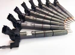 Fuel Injection & Parts - Fuel Injectors & Nozzles - Dynomite Diesel - Duramax 11-16 LML Reman Injector Set 20 Percent Over Dynomite Diesel