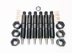 Fuel Injection & Partsfor 2nd Gen Dodge Ram 12V - Injector Nozzles - Dynomite Diesel - Dodge 94-98 5.9L 12 Valve Stage 4 Injector Set Dynomite Diesel