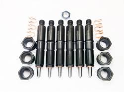 Fuel Injection & Partsfor 2nd Gen Dodge Ram 12V - Injector Nozzles - Dynomite Diesel - Dodge 94-98 5.9L 12 Valve Stage Economy Series Injector Set Dynomite Diesel