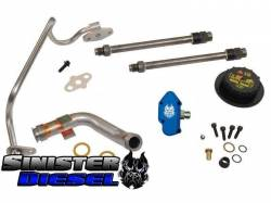 Engine Parts for Ford Powerstoke 6.0L - Oil System - Sinister Diesel - Sinister Diesel Update Kit for 2004 6.0L Powerstroke