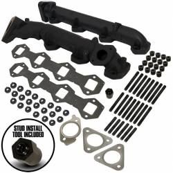 2017-2020 Ford 6.7L Powerstroke Parts - Ford 6.7L Exhaust Parts - BD Diesel - BD Diesel 6.7L Ford Powerstoke Exhaust Manifold Kit