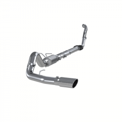 """Ford OBSExhaust Parts - Exhaust Systems - MBRP Exhaust - MBRP Exhaust 4"""" Turbo Back, Single Side Exit (Aluminized 3"""" downpipe), AL S6218AL"""